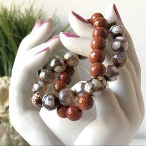 Healing Stones bead bracelets stretch